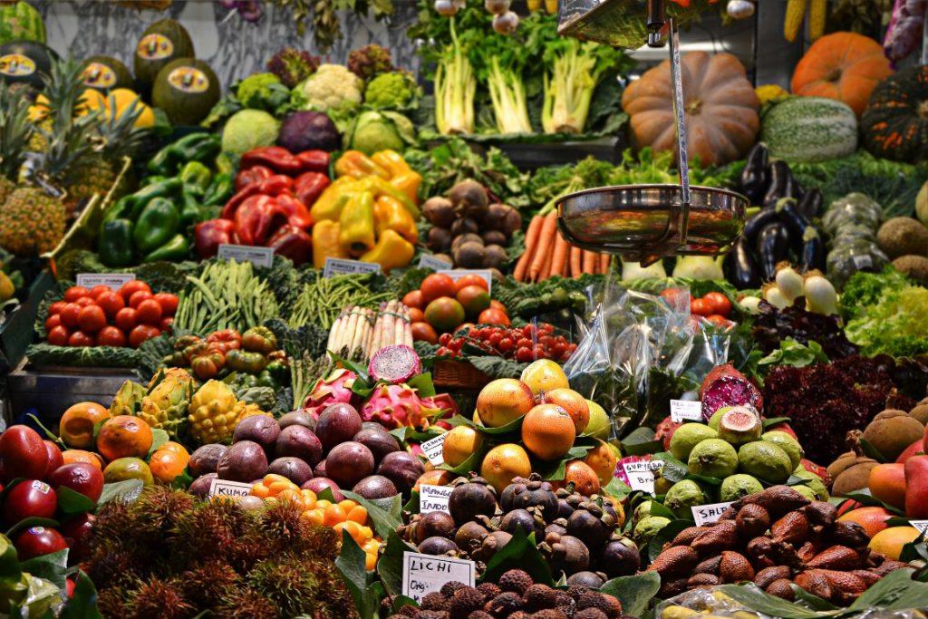 Obst und Gemüse sind immer die Basis einer gesunden Ernährung.